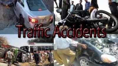 فیروز والہ: ٹریفک حادثات میں نوجوان جاں بحق ، 3افراد زخمی