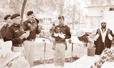 پنجاب پولیس کی قربانیوں پر فخر ہے : مشتاق احمد سکھیرا