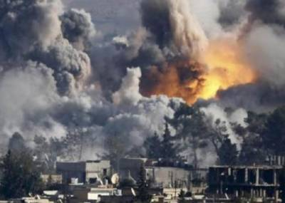 دمشق : 2 فضائی حملے' 4 بچوں سمیت مزید 11 افراد مارے گئے