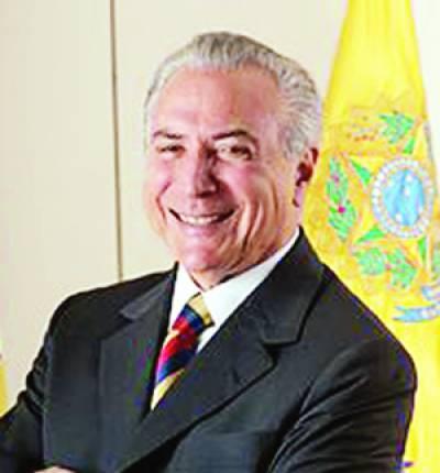 برازیل کے صدر مائیکل ٹیمر پر سابق سیاسی حلیف سے ایک بڑی رشوت لینے کا الزام عائد کیا گیا ہ