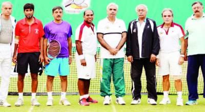 سینئرز ورلڈ رینکنگ ٹینس ٹورنامنٹ رشید ملک نے 2 ٹائٹل جیت لئے