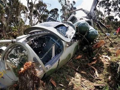 بھارتی ہیلی کاپٹر گر کر تباہ 'پائلٹ سمیت 3 فوجی ہلاک