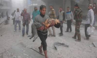 شام : دو بچوں سمیت 29 ہلاک : فوجیوں پر حملہ غلطی سے ہوا : امریکہ جان بوجھ کر نشانہ بنایا گیا : بشارالاسد