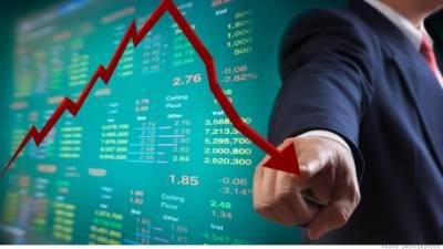 سٹاک مارکیٹ منفی اطلاعات کی لپیٹ میں' انڈیکس مزید 188 پوائنٹس گر گیا' سرمائے کا انخلا جاری