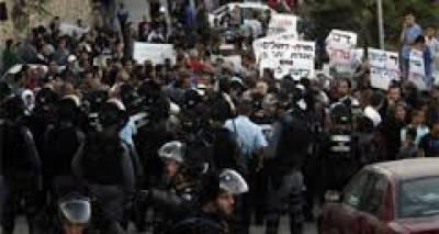 اسرائیلی ارکان پارلیمنٹ کا منی سکرٹ پر پابندی کے خلاف ایوان کے باہر مظاہرہ