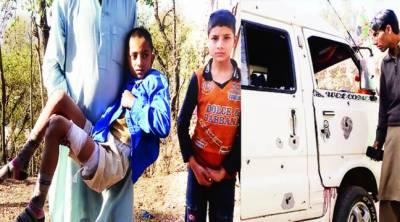 کنٹرول لائن: سکول وین پر بھارتی فائرنگ' ڈرائیور شہید' 10 طلبا زخمی
