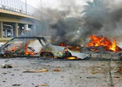 بغداد میں مسجد اور چیک پوسٹ کے قریب کار بم دھماکے' 16 افراد ہلاک' 15 زخمی