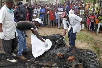 کانگو: قبائل کے درمیان فسادات 15افراد ہلاک، 65گھر نذر آتش