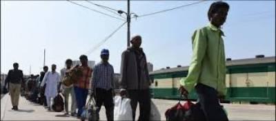 کراچی سے 241 بھارتی ماہی گیر رہا' ٹرین کے ذریعے لاہور روانہ