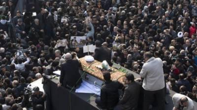 ہاشمی رفسنجانی کی تدفین، نماز جنازہ علی خامنہ ای نے پڑھائی، لاکھوں افراد کی شرکت