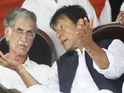 تحریک انصاف کا اجلاس، پرویز خٹک نے مرکزی صدارت مانگ لی: آئی این پی کا دعویٰ