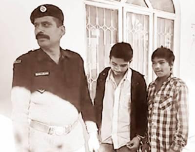 گوجرانوالہ: موٹر سائیکل چوری کے الزام میں گرفتار 2 کمسن بچے عدالت میں پیش