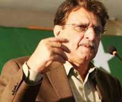 پاکستان سے رشتہ روحانی ہے: فاروق حیدر، کشمیر پر عالمی اداروں سے رجوع کرنا ہوگا: سردار مسعود