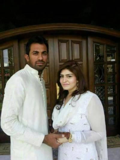 جان باقی ٹیموں کی فکر چھوڑو پشاور زلمی کی فکر کرو وہاب ریاض اور اہلیہ کے درمیان مکالمہ