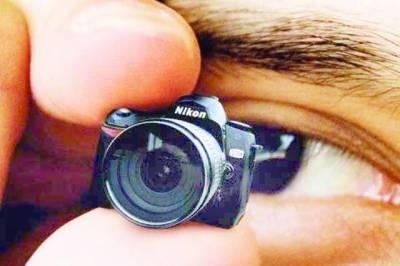 عقابی نظروں والا انتہائی چھوٹا سمارٹ کیمرہ تیار