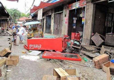 فلپائن میں درمیانے درجے کا زلزلہ معمر خاتون ہلاک، 25 زخمی