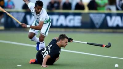 پاکستان نے نیوزی لینڈ کو تیسرے ہاکی میچ میں-2 4 سے ہرا دیا