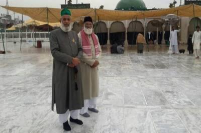 درگاہ حضرت نظام الدین اولیائ کے سجادہ نشین نئی دہلی پہنچ گئے