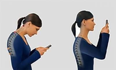 سمارٹ فونز کا زیادہ استعمال گردن اور ریڑھ کی ہڈی میں تکلیف کا باعث بنتا ہے: ماہرین