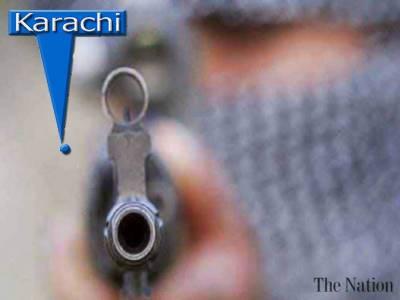 کراچی میں فائرنگ: 2 افراد ہلاک' بچے سمیت 4 زخمی