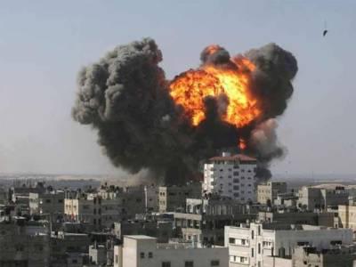 شام :میزائل حملہ داعش کے پناہ گزین کیمپ میں 5 خودکش دھماکے 9بچوں سمیت 50 ہلاک