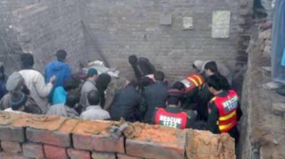 کوٹ لکھپت:زیر تعمیر مکان کی چھت گرنے سے نو جوان جاں بحق