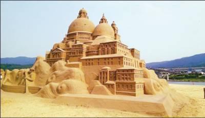 تائیوان :ساحل پر ریت کے مجسموں کا10واں بین الاقوامی میلہ