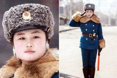 شمالی کوریا واحد ملک جہاں ٹریفک پولیس میں لڑکیاں ہی ہوتی ہیں