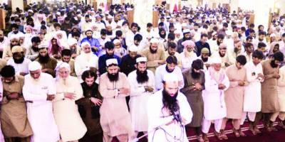 لاہور: جماعة الدعوة کے زیراہتمام شہید کشمیری مجاہدین کی غائبانہ نمازجنازہ