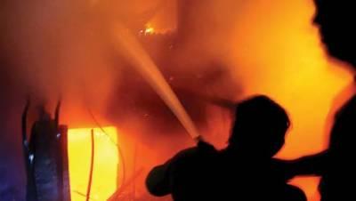 آتشزدگی کے 5واقعات میں لاکھوں کا سامان جل گیا