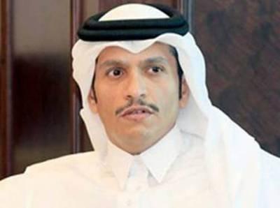 معاشی بائیکاٹ ختم ہونے تک عرب طاقتوں سے بات نہیں کرینگے: قطری وزیر خارجہ