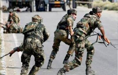 مقبوضہ کشمیر: بمارتی فوج کے کیمپ پر بموں سے حملہ' مکان کا محاصرہ' 2 مجاہد کمانڈر شہید ہونے کی اطلاعات