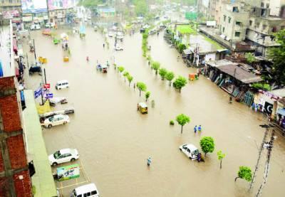 مون سون کا آغاز' لاہور سمیت کئی شہروں میں طوفانی بارشیں' چھتیں گرنے' کرنٹ لگنے اور حادثات میں 14 جاں بحق