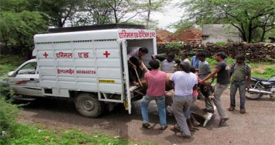 بھارت میں گائے کیلئے ایمبولینس سروس شروع کردی گئی