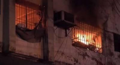 گنگا رام ہسپتال کے بچہ وارڈ میں شارٹ سرکٹ سے آگ لگ گئی' لاکھوں کا نقصان