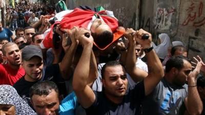 رملہ : اسرائیلی فوجیوں نے جعلی مقابلے میں فلسطینی شہید کر دیا : اسرائیلی وزراءنے ایک بل کی ابتدائی منظوری دیدی