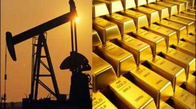 عالمی مارکیٹ میں سونے اور خام تیل کی قیمتوں میں اضافہ