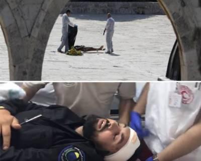 مقبوضہ بیت المقدس: اسرائیلی پولیس کی فائرنگ' امام مسجد اقصیٰ سمیت 14 زخمی