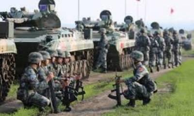 ;سکم تنازعہ پر چین کا بھارت کو سخت پیغام' بھاری اسلحہ تبت سرحد منتقل کر دیا