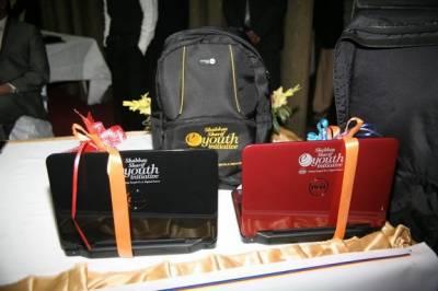 زکریا یونیورسٹی کے 500 طلباءمیں لیپ ٹاپ تقسیم