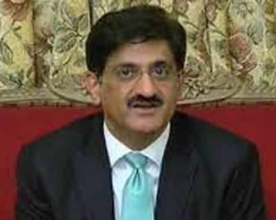 نیب کی کاروائیاں سندھ کو مفلوج کرنیکی سازش تھی: مراد علی شاہ