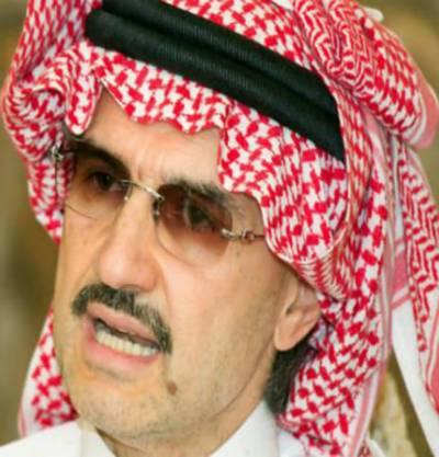 سعودی شہزادہ ولید بن طلال مصر میں 800ملین ڈالر کی سرما یہ کا ری کریں گے