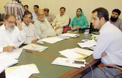 ڈپٹی کمشنر سمیر سید کی زیر صدارت ڈسٹرکٹ کوالٹی کنٹرول بورڈ کا اجلاس