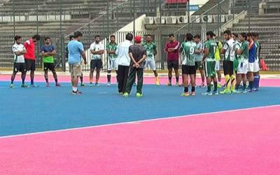 ایشیا کپ : قومی ہاکی ٹیم کا تربیتی کیمپ کراچی میں شروع