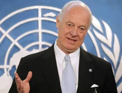 شامی بحران کے حوالے سے اکتوبر اہم اور فیصلہ کن مہینہ ثابت ہو گا: ایلچی اقوام متحدہ