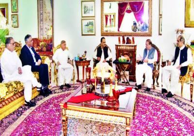 اسد جونیجو مسلم لیگ ن میں شامل' جلد سندھ جائوں گا' الیکشن 2018ء میں بڑی کامیابی حاصل کرینگے: نوازشریف