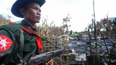 میانمار حملوں میں 15 اہلکار ہلاک 30 زخمی جبکہ جوابی فائرنگ میں 59حملہ آور مارے گئے