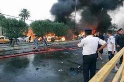عراق : پاور پلانٹ پر خودکش دھماکہ' 7 افراد ہلاک' 12 زخمی' 2 حملہ آور بھی مارے گئے