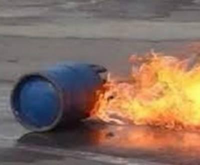 تلونڈی بھنڈراں: گیس ری فلنگ کے دوران دھماکہ، ایک شخص جاں بحق، دوسرا زخمی