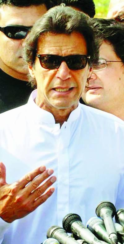 نواز شریف کو بھاگنے نہیں دےنگے، انہیں جیل جانا ہی پڑے گا: عمران خان